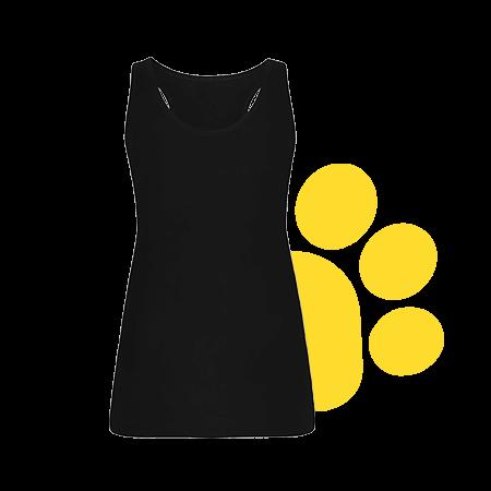 Camiseta mujer de tirantes oscura