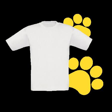 Camiseta niño clara